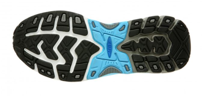 The thicker mid-sole makes it more comfortable for flat-footers.