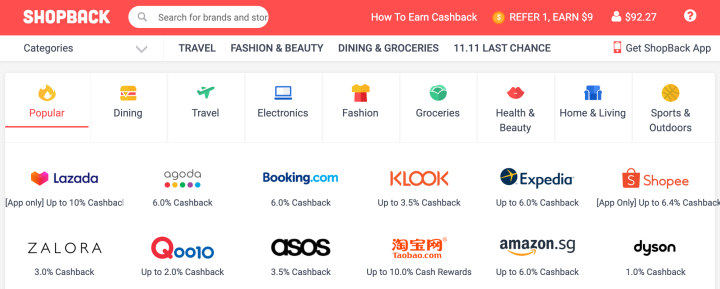 Save more withShopBack!