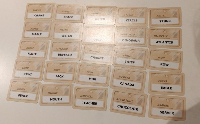 A game of association – Codenames!