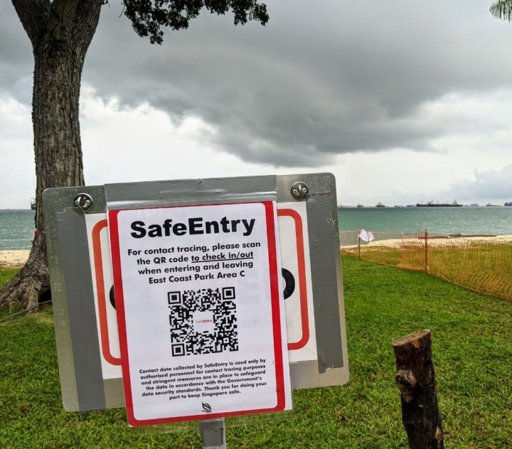 Safely Enter withSafeEntry!
