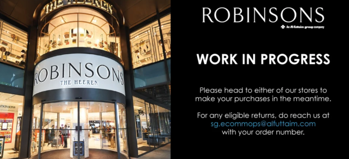 End of Robinsons