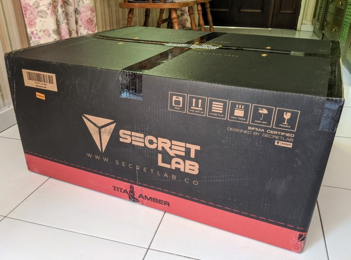 Secretlab chair: Not just forgamers